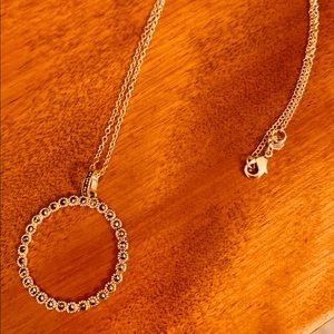 Sterling Circle Necklace
